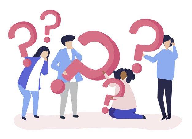 groupe qui se posent des questions